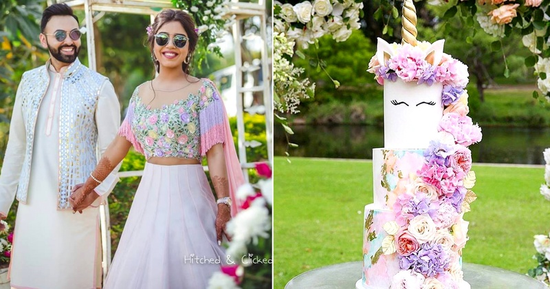 How to incorporate the famous 'unicorn trend' at your Indian Wedding!
