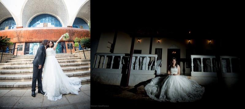 Mayank & Stephanie Bangalore : Tasteful Catholic Wedding held at Bunglow 7, Bangalore