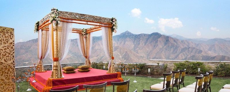 Outdoor wedding venues in Mussoorie to plan a Perfect Mountain Wedding