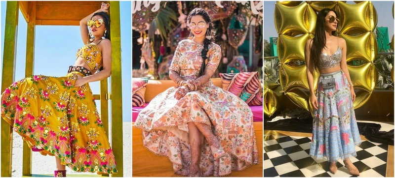 7 Unconventional Short Lehenga Ideas For the Bride who Wants to be Vogue