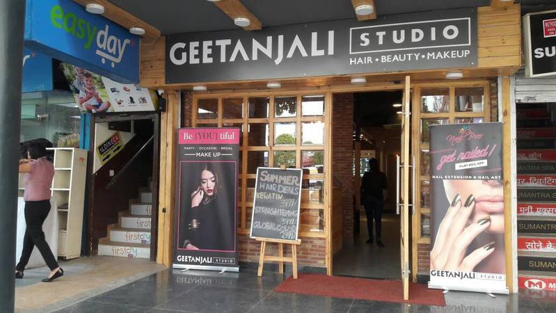 Geetanjali Studio Salon, Sec 31, Gurgaon | Delhi | Makeup Artists