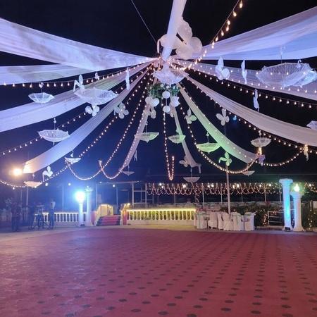 Dr Nevilles Dance Floor Chandor Goa - Wedding Lawn