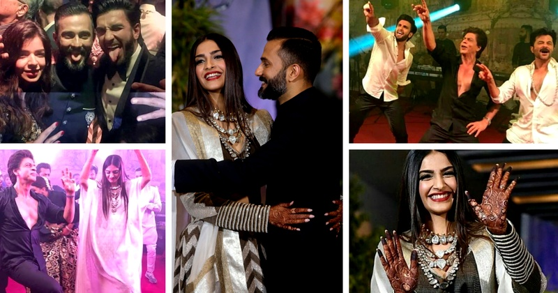These celebrity dance performance videos from Sonam Kapoor's reception prove that it was definitely the wedding of the year! #Sonamkishaadi
