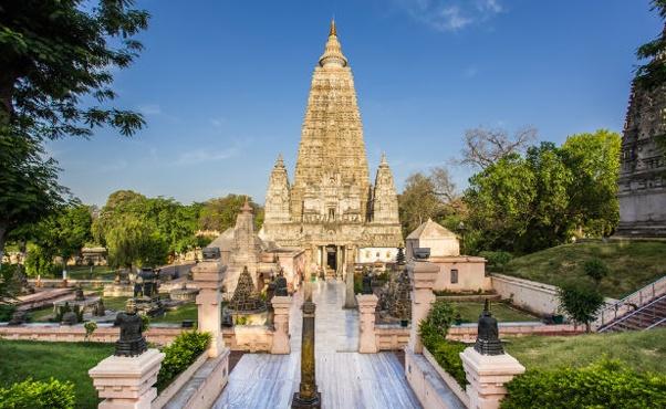 6. Mahabodhi Temple, Gaya