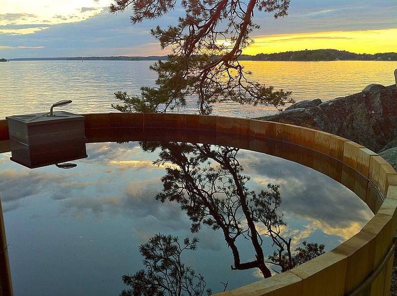 5. Island Lodge, Sweden