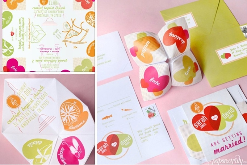 10 Super-Creative Wedding Invite Ideas You Need To Check Out! - Blog