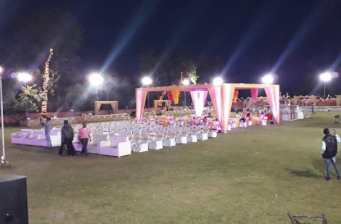 Krishna Vatika Ramkrishan Nagar Patna - Banquet Hall