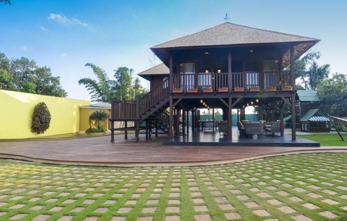 Bodhi Farm Villa Makhmalabad Nashik - Wedding Lawn