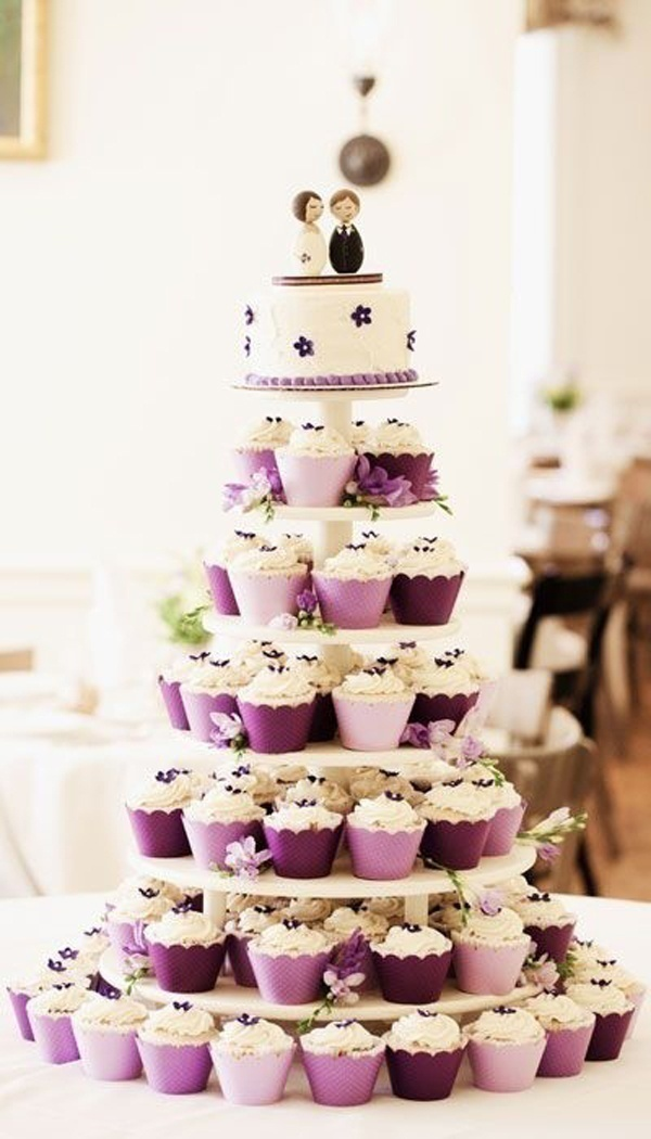 Wedding Cupcake Ideas.Wedding Cupcake Ideas How To Match Your Wedding Theme Blog