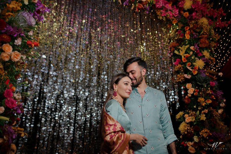 Neev & Tanya Mumbai : When an arranged marriage meeting turned into a love match for the couple!
