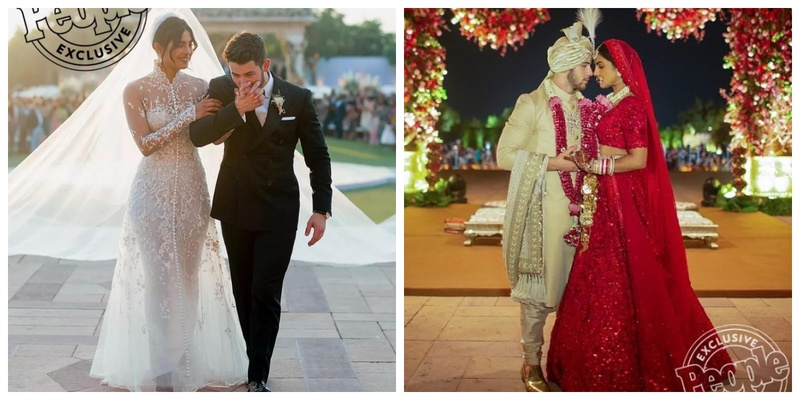 All the exclusive pics & deets from Priyanka Chopra & Nick Jonas' Christian plus Indian Wedding!
