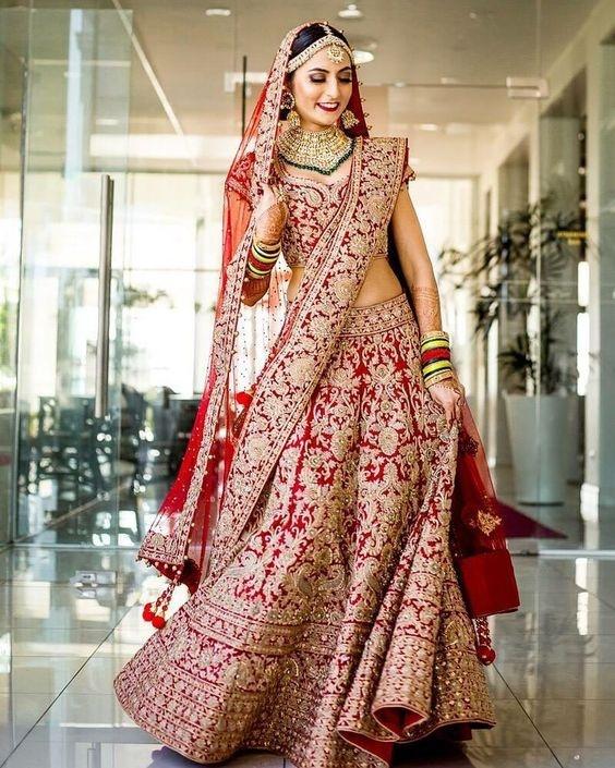 e757028f 25 Latest lehenga designs 2018 for wedding - Blog