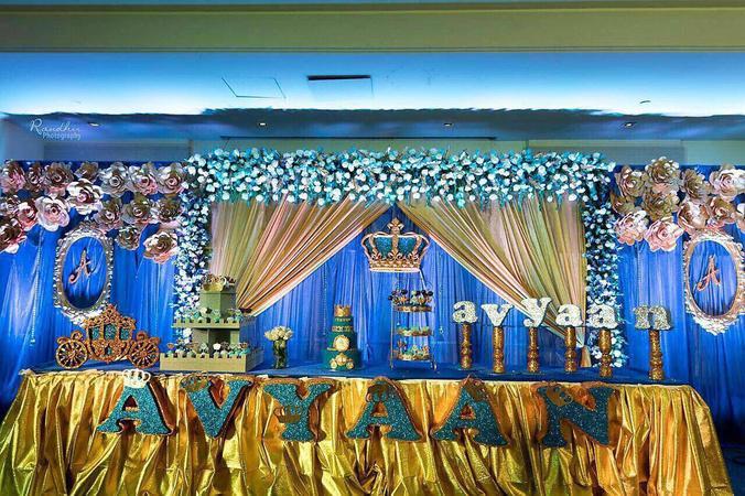 Sai Prasanna Anjaneya Flower Decoration | Hyderabad | Decorators