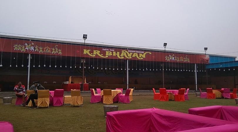 KR Bhawan Ghukna Ghaziabad - Wedding Lawn