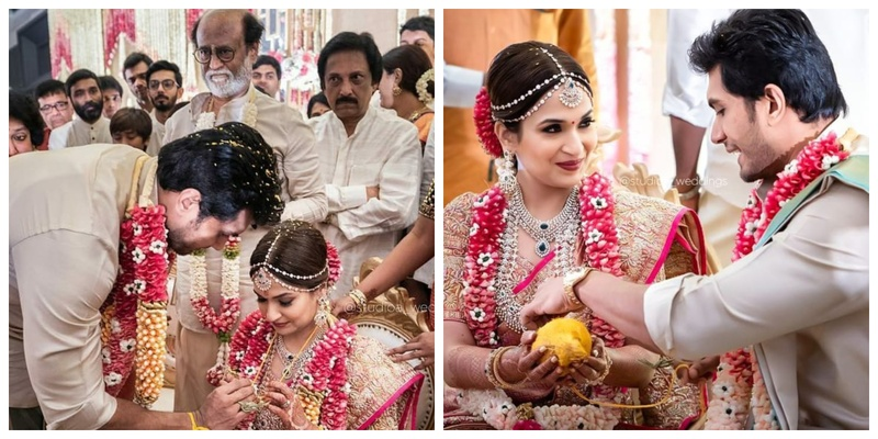 Rajinikanth's youngest daughter, Soundarya just got hitched and you've got to check out the pictures!