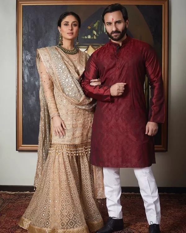 8. When The Family Portrait Showed The Begum And The Nawab In Their Essence: