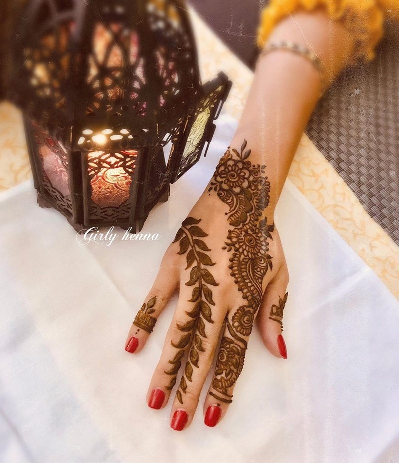 20+ Arabic Mehndi Design Images Which Are a Must See! - Blog