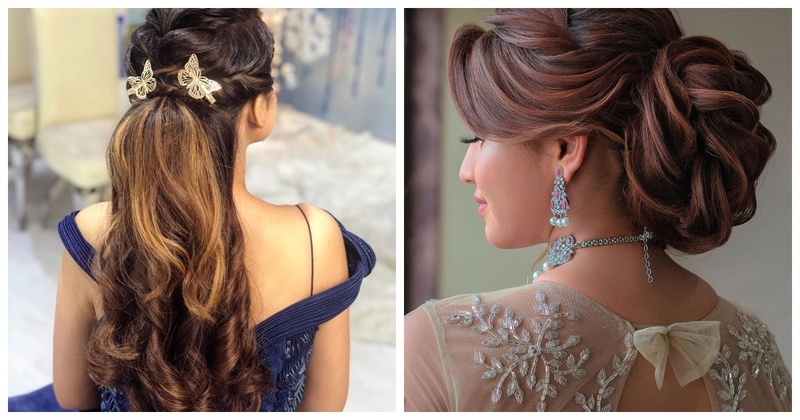 5 Brides who Flaunted Gorgeous Reception-worthy Hairstyles Sans any Flowers
