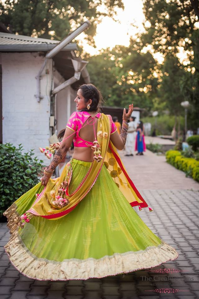 Lehengas, Sarees and all – Our Favourite Bridal Looks from 2015