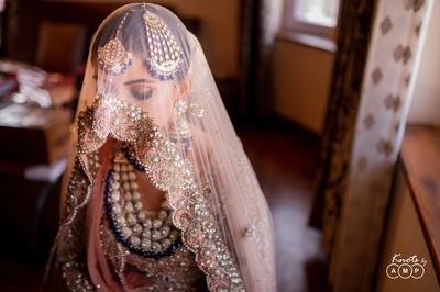 What a stunning bridal veil shot!