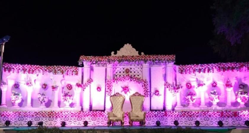 Sanval Grah Resort Rawat Nagar Jodhpur - Wedding Lawn