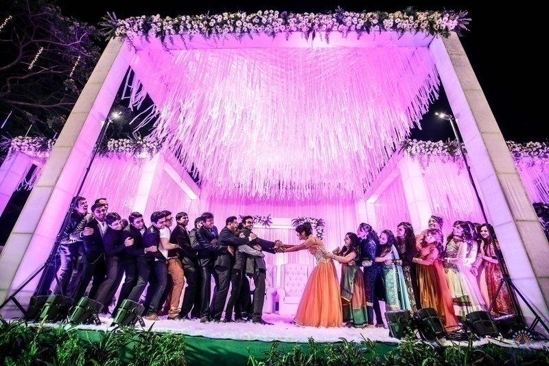 Wedding Stage Decoration Ideas For Glam Indian Weddings Blog