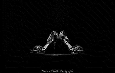 Bridal footwear photography by Gautam Khullar Photography.