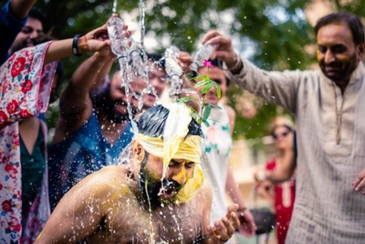 Time to was off all that haldi!