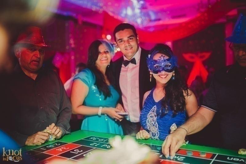 Casino and Masquerade Night