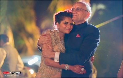 Sweet moments captured by Reels and Frames during the wedding