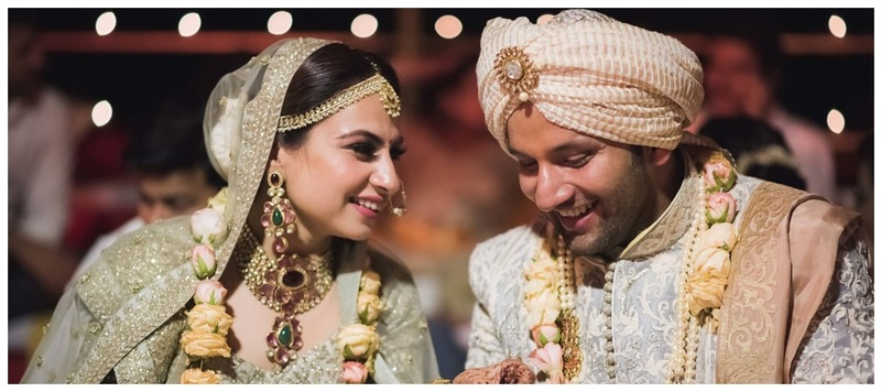 Anand & Poorna Agra : This couple chose unique colour's for their wedding and we can't got over it!