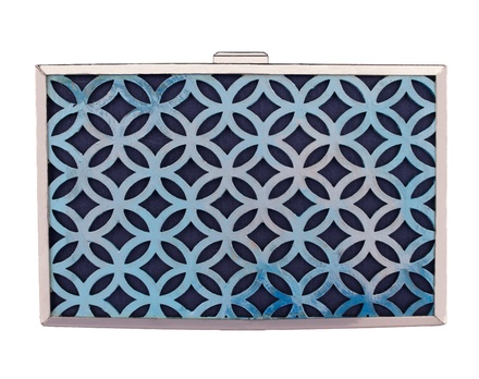 Ank Blue Clutch