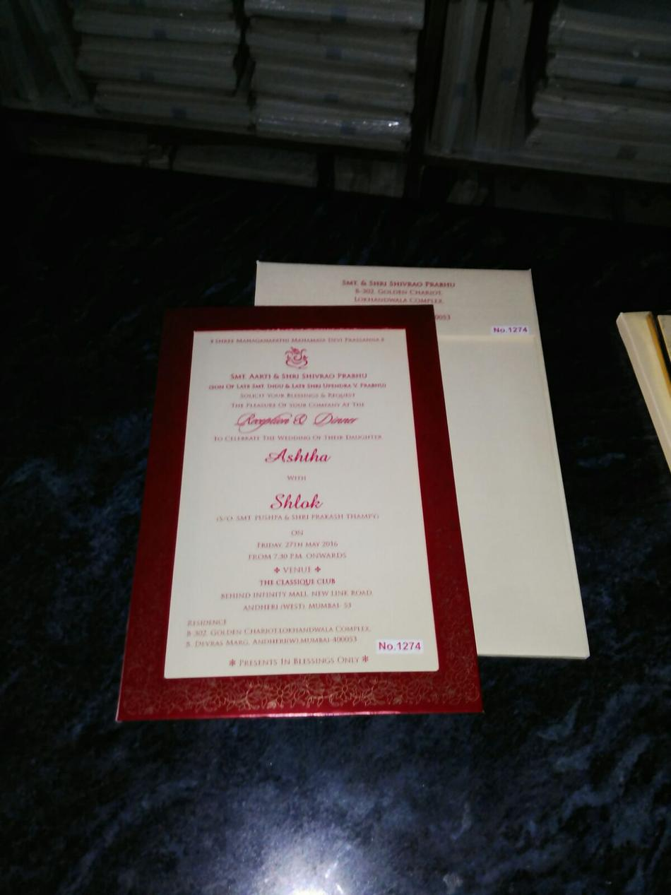 Om sakshi card wedding invitation card in bangalore for Wedding invitation cards bangalore jayanagar