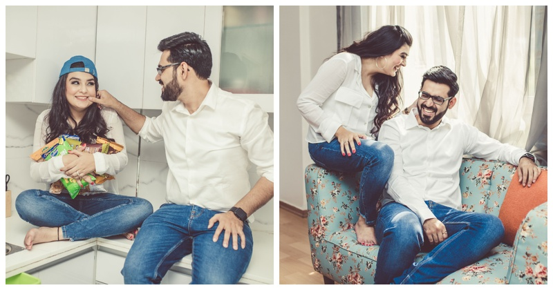 This couple's 'Homely' pre-wedding shoot will make you go aww!