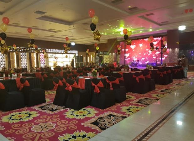 Hotel Tridev Ghasi Tola Varanasi - Banquet Hall