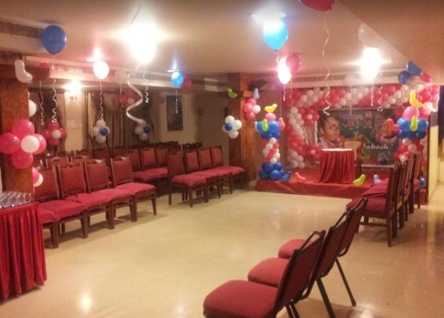 Hotel Akshaya Dondaparthy Visakhapatnam - Banquet Hall