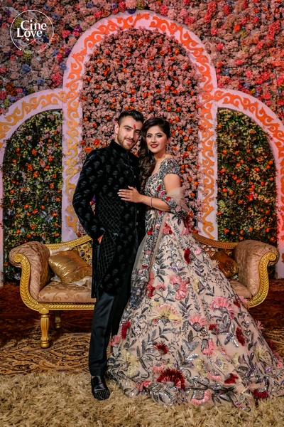 The couple look nothing short of a match made in heaven!