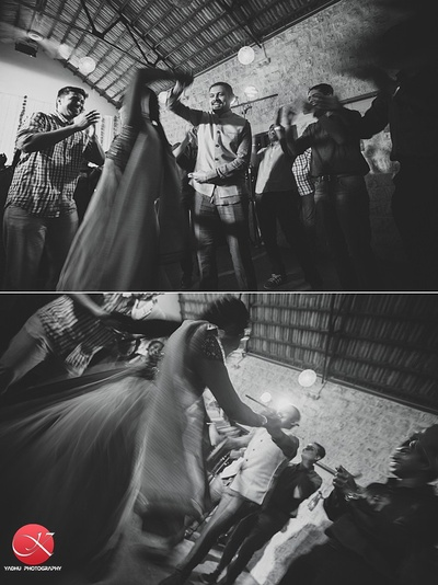 Candid wedding photography captured by Yadhu Photography