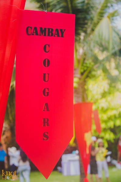 Bride's side putting a tough fight against groom's team as Cambay Cougars