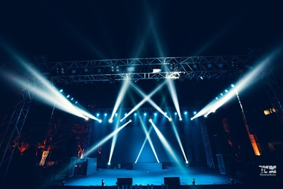 stage decor for the sangeet ceemony