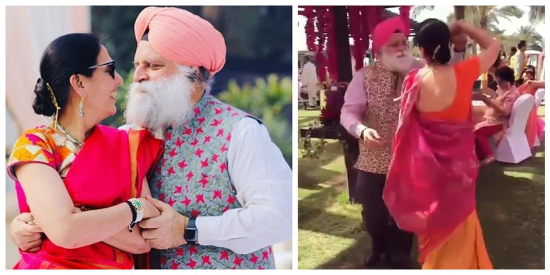 This old but young-at-heart couple proved that 'love knows no age' with their rocking dance performances at weddings!
