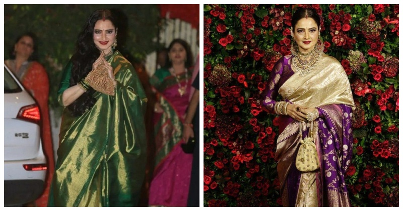 #BirthdaySpecial: 5 Sarees Mother of the Bride or Groom can Flaunt Like Rekha!