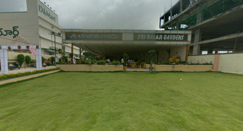 Sri Balaji Garden Function Hall Ramachandrapuram Hyderabad - Wedding Lawn