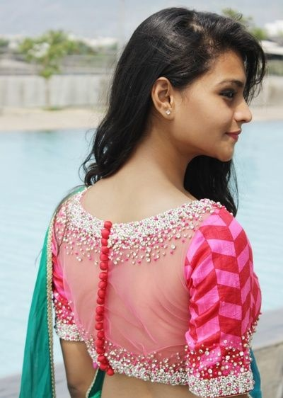 20 Net Blouse Designs To Wear With Sarees Or Lehengas On Your Big Day Bridal Wear Wedding Blog