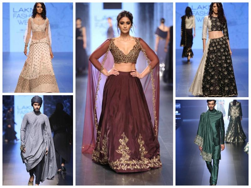 Must See: Bridal Lehenga and Sherwani Designs From Lakme Fashion Week 2016