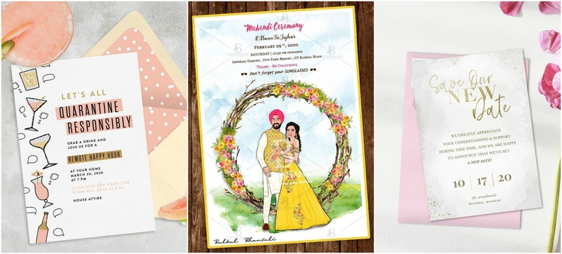 8 Quirky E-invites And Their Designers For Digital Invites For Your Wedding