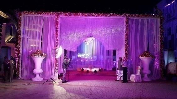 Wedding gate decoration top photo gallery with wedding gate elegant flowers drapes u crystals wedding gate decoration ideas with wedding gate decoration junglespirit Images
