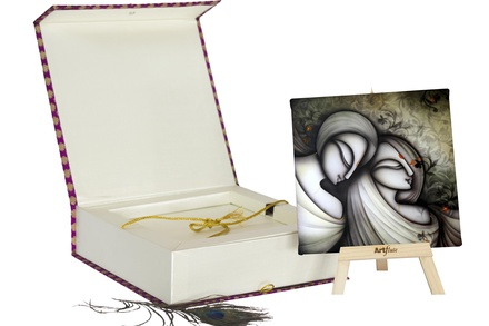Artflute- Madly in love Painting With Gift Box
