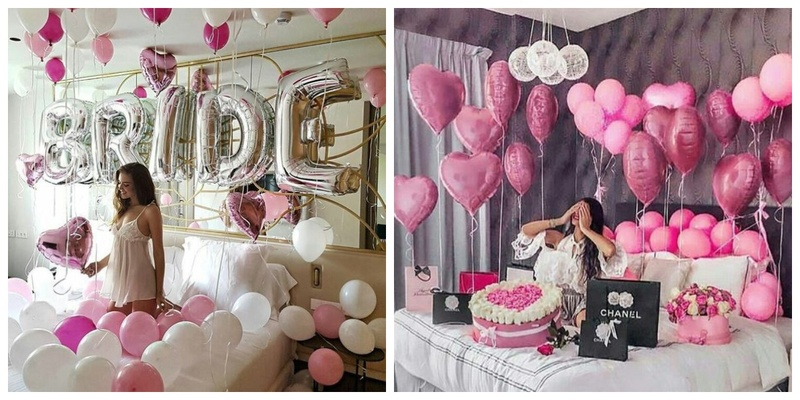 10 cutest & super adorable ways to decorate the room for your bestie bride-to-be!