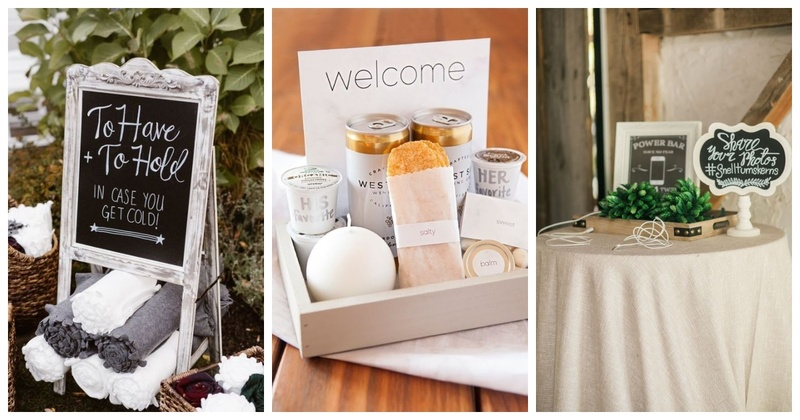 10 Things to Make your Wedding Guests Feel Comfortable